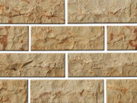 stone split face tiles beige