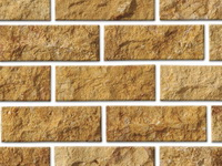 stone split face tiles yellow